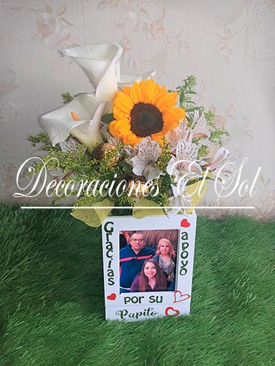 """Arreglos Florales """"Amor cúbico"""""""