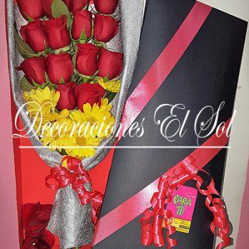 """Arreglo Floral """"14 Rosas para ti"""""""