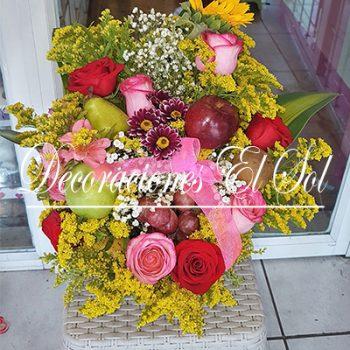 Arreglos Florales Con Frutales Archivos Decoraciones El Sol