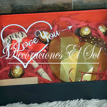 "San Valentín ""Corazón de chocolate premium"""