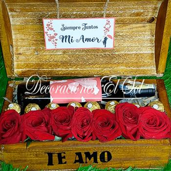 """San Valentín """"El cofre del amor"""""""