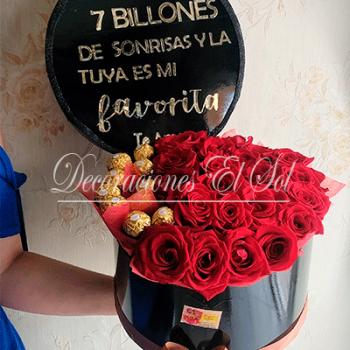 """San Valentín """"Tu sonrisa es mi favorita"""""""